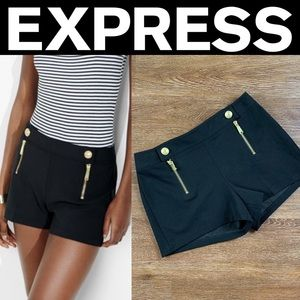Express Zip Front Sailor Shorts